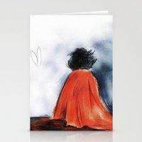 Shock Blanket- BBC's She… Stationery Cards