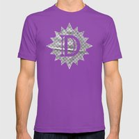 Mace Wrinkle Mens Fitted Tee Ultraviolet SMALL
