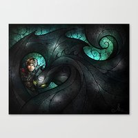 The Alpha Canvas Print