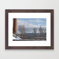 Power Planted Framed Art Print