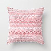 Triangle Trip Throw Pillow