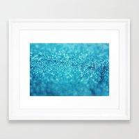 Blueberry Tart Framed Art Print