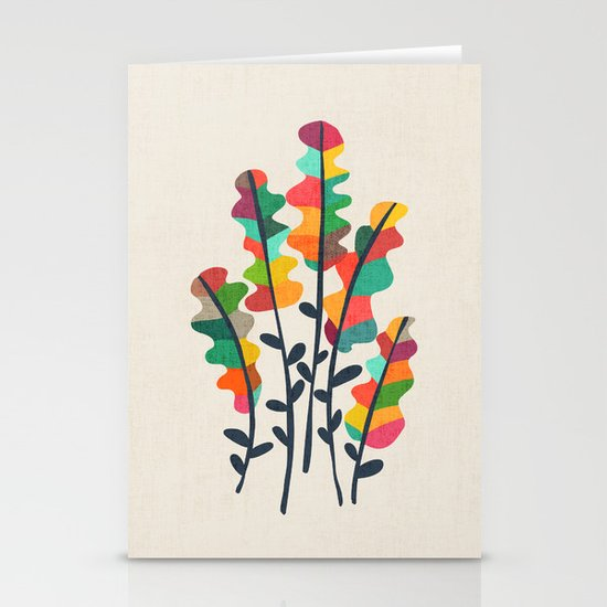 Flower from the meadow Stationery Card