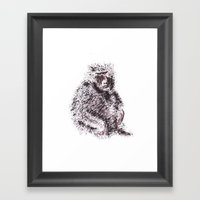 Simio Framed Art Print