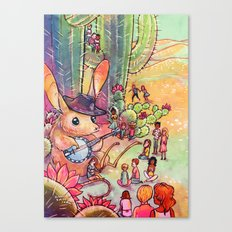 Giant of May Canvas Print