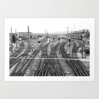 All Trains Lead To Vienn… Art Print