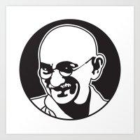Mohandas Karamchand Gandhi Art Print