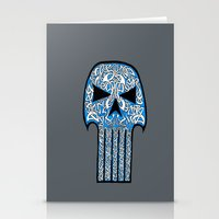 Celtic Punisher Stationery Cards