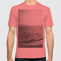 ocean Mens Fitted Tee Pomegranate SMALL