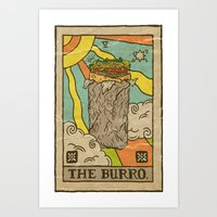 The Burro. Art Print