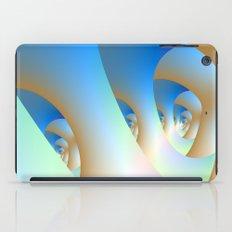 Blue Labyrinth iPad Case