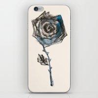 Royal Blue Rose iPhone & iPod Skin