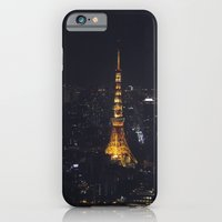 iPhone & iPod Case featuring Tokyo Tower at Night by Kevin & Laura & Art