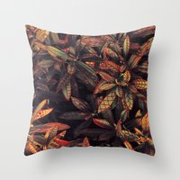 Leaves Evolved 5 Throw Pillow