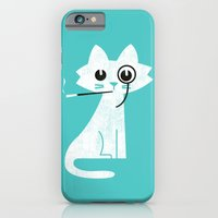 iPhone & iPod Case featuring Mark - Aristo-Cat by Budi Kwan