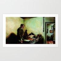 Hitler's Last Hour Art Print