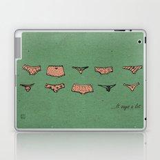 UNDERWEAR LOVE: It says a lot Laptop & iPad Skin