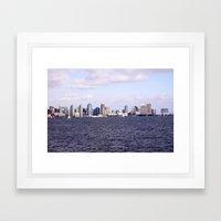 Good Morning San Diego  Framed Art Print