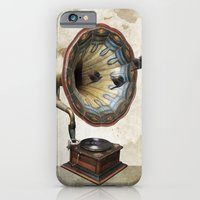 iPhone & iPod Case featuring the sound of crows by vin zzep