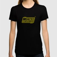 May The 4th Be With You Womens Fitted Tee Black SMALL