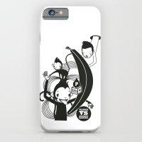 WARREN VS MONKEY BANANA iPhone 6 Slim Case