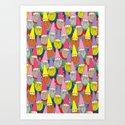 Mister Gnome Art Print