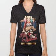 Harley Quinn Unisex V-Neck