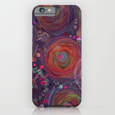 Floral abstract(53). iPhone 6 Slim Case