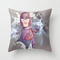 Magneto Kaffee Time Throw Pillow
