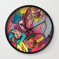 Mega Man Tribute Wall Clock
