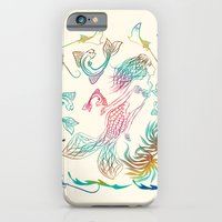 mermaid iPhone & iPod Cases featuring Mermaid by famenxt