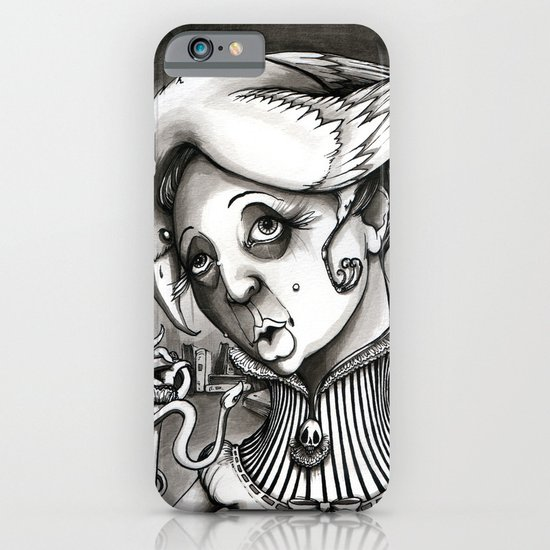 Lady Heartwood iPhone & iPod Case