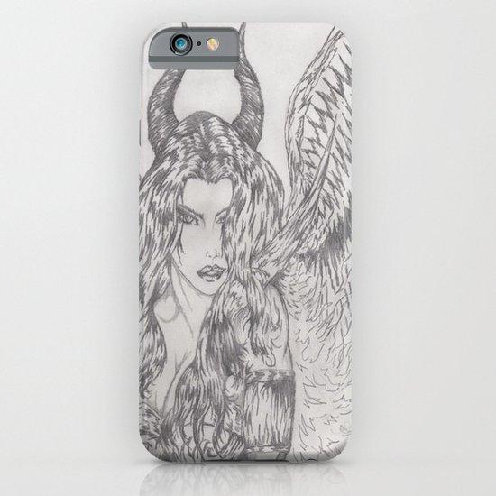 angel or demon iPhone & iPod Case
