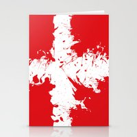 in to the sky, Denmark  Stationery Cards