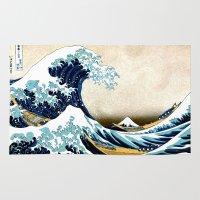 Kanagawa Oiled Rug