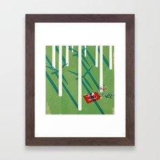 Anthropocene Framed Art Print