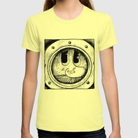 The Look Womens Fitted Tee Lemon SMALL