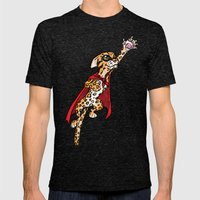Super Ocelot Mens Fitted Tee Tri-Black SMALL