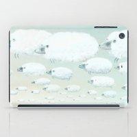 Cloudy Sheep iPad Case