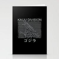 Kaiju Division Stationery Cards
