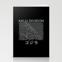 Kaiju Division Stationery Cards