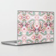 Laptop & iPad Skin featuring Lily, Leaf & Triangle Pa… by Micklyn
