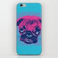 HypnoPug iPhone & iPod Skin