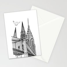 NYC Silhouettes Stationery Cards