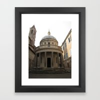 Bramante's Tempietto Framed Art Print