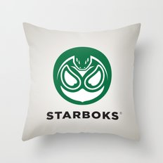 Starboks! Throw Pillow