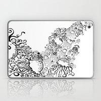 Jellyfish Migration Laptop & iPad Skin