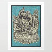 SeaWolf Art Print