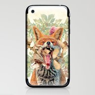 iPhone & iPod Skin featuring Rebirth by Ginger Breo