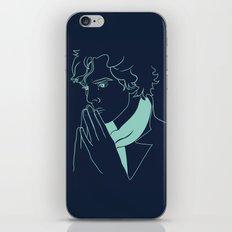 sherlock h iPhone & iPod Skin